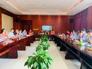 上海永福园2021年年中营销会议