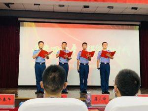永福园慰问共建部队官兵并参加建营40周年军民融合文艺晚会